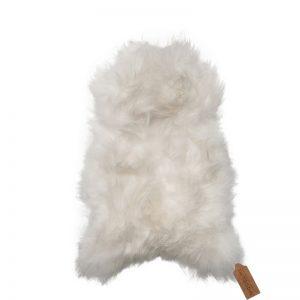 ijslandse schapenvacht wit