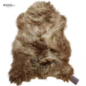 WOOOL Schapenvacht - IJslands Bruin XL (1)