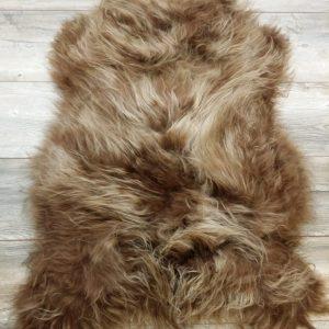 WOOOL Schapenvacht - IJslands Bruin XL (2)