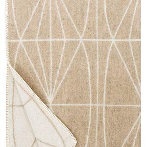 lapuan-kankurit-kehra wollen-deken-130x180-beige